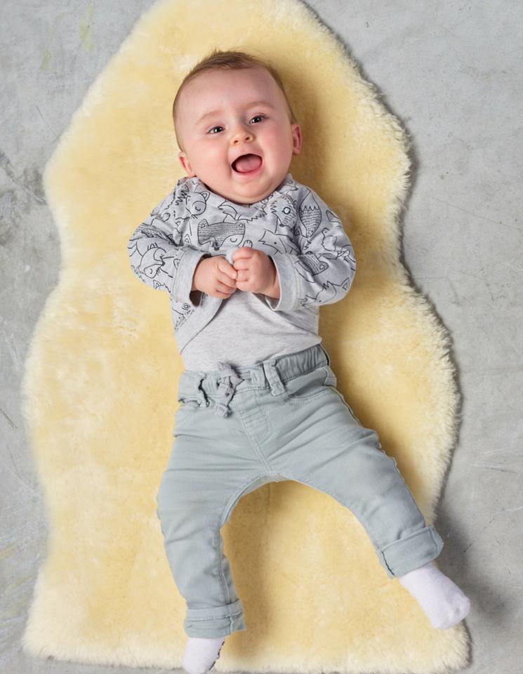 Australian Merino Lambskin Baby Rug
